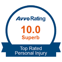 AVVO 10.0 Superb Rating - Top Rated Personal Injury